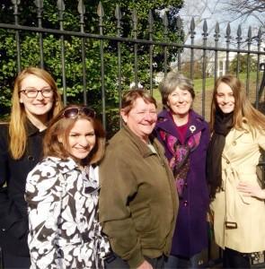 AAUW White House Tour Group Photo - Copy