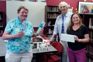 AAUW of Virginia members donate toiletries to Women's and Gender Study Center at  Mason