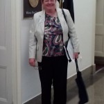 AAUW of Virginia member Sandy Lawrence in the House of Representatives